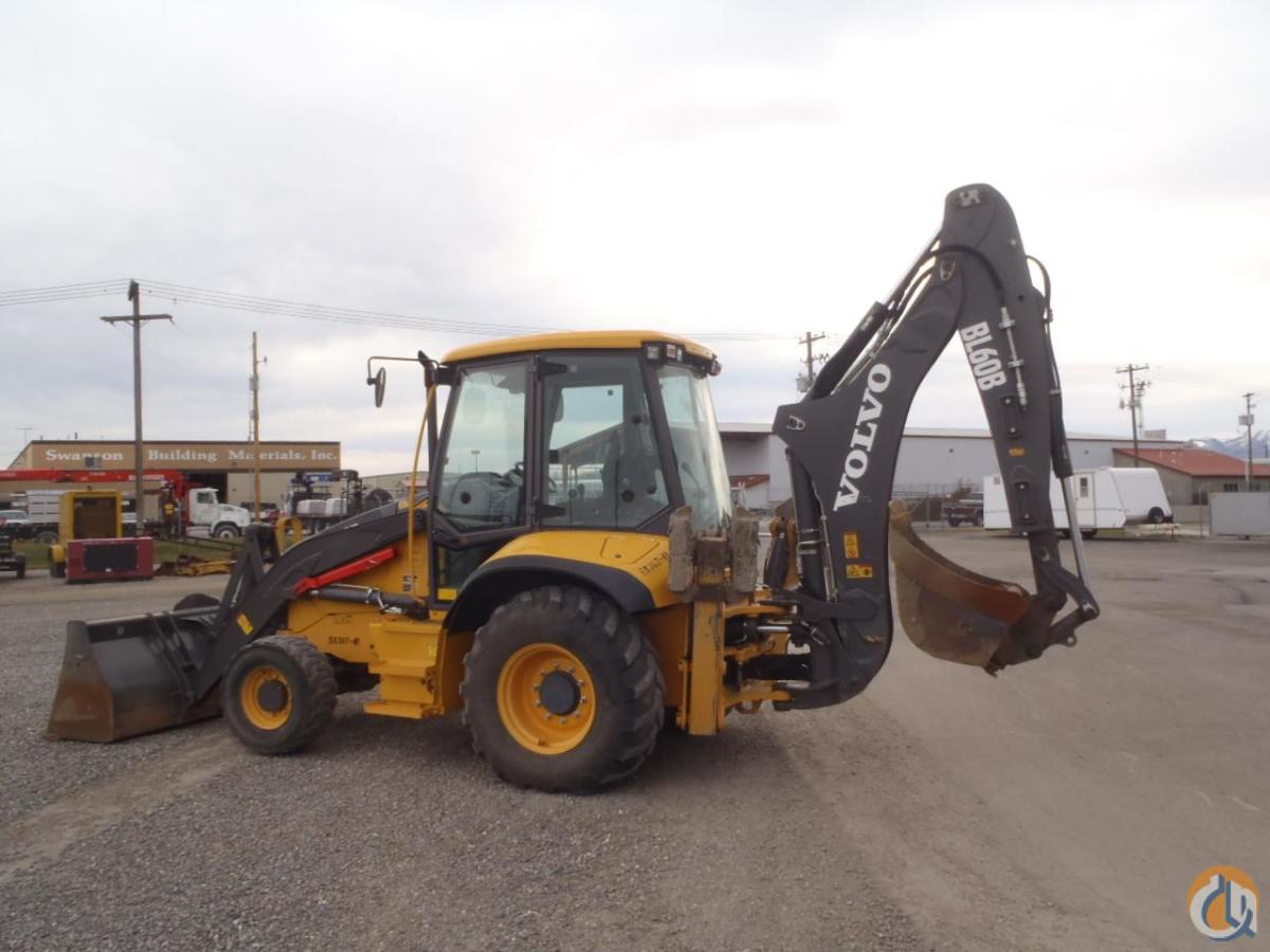 2012 VOLVO BL60B Loader Backhoes VOLVO BL60B Equipment Sales Inc. 18196 on CraneNetwork.com